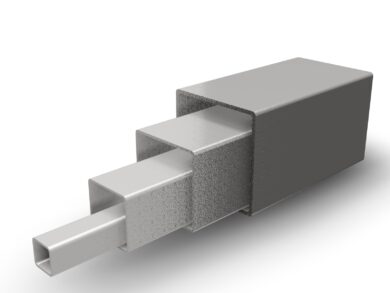 TRUBKA ČTVERCOVÁ 60x60x2mm, DIN 1.4301(11020060020100)