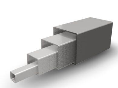 TRUBKA ČTVERCOVÁ 50x50x2mm, DIN 1.4301(11020050020100)
