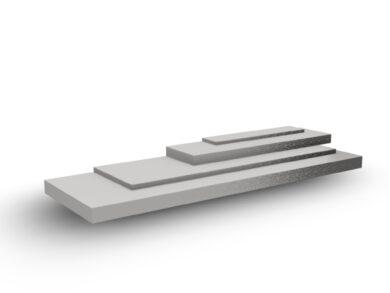 OCEL PLOCHÁ 40x8mm STŘIHANA, DIN 1.4301(11070040008100)