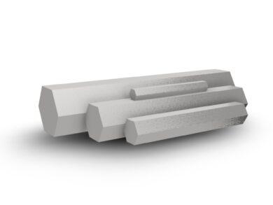 OCEL ŠESTIHRANÁ OK 32mm, DIN 1.4301(11080032000100)